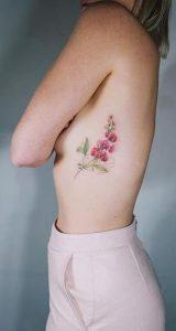 tatouaz sta pleura louloudia-xrwma