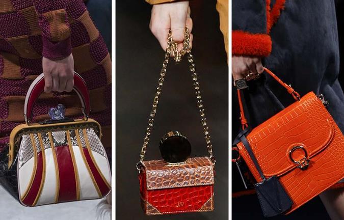 Οι τάσεις της μόδας στις τσάντες για το Χειμώνα 2018!  f2071f2721b