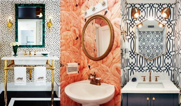 10 Εντυπωσιακές ταπετσαρίες για το μπάνιο σου!