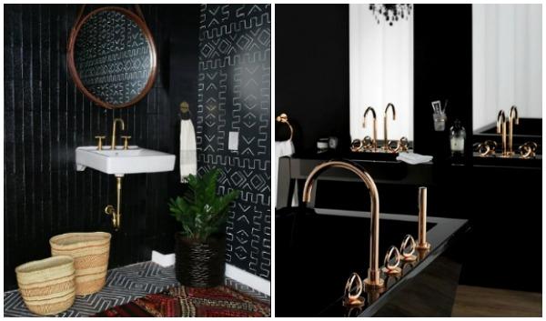5 Τρόποι για να ανακαινίσεις το μπάνιο σου με μαύρο χρώμα!