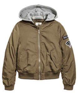 bomber jacket koritsi
