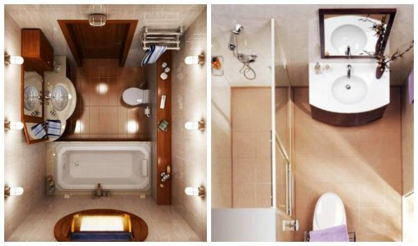 25 Εντυπωσιακές ιδέες για μικρά μπάνια!