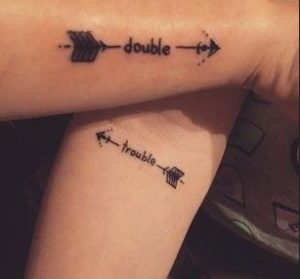 double trouble tattoo