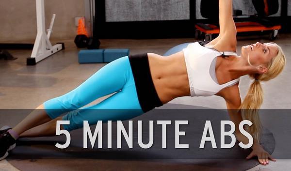 Πως να αποκτήσεις επίπεδη κοιλιά σε 5 λεπτά!