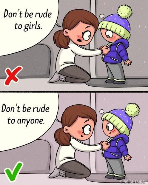 c3654cb995 Έχουμε μεγαλώσει με την μαμά μας και τον μπαμπά μας να μας λένε ότι τα  κορίτσια πρέπει να τα σεβόμαστε και να μην τα κοροϊδεύουμε.