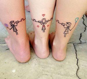 sinechomeno tattoo gia aderfes