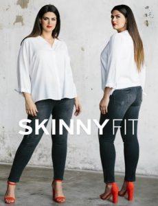 skinny jean pantelonia