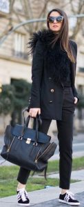 total black style