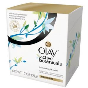Olay Active Botanical Intensive Night Cream Moisturizer