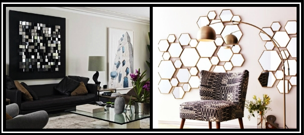 10 Εντυπωσιακά διακοσμητικά τοίχου με καθρέφτες που πρέπει να δοκιμάσεις!