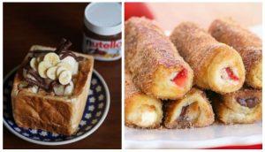 2 Εύκολες συνταγές για γλυκά με ψωμί του τοστ!