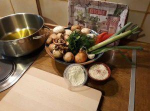 Νηστίσιμη συνταγή για μια νόστιμη μανιταρόσουπα!
