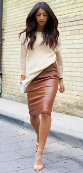 fcf1270e27b3 5 Τρόποι για να φορέσεις το πουλόβερ σου με φούστα!