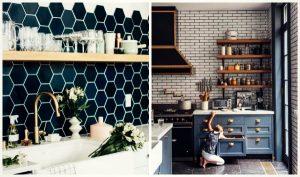 14 Ιδέες διακόσμησης με πλακάκια για την κουζίνα σου!