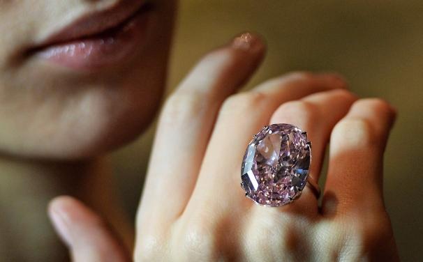 4a0e25046 1. Pink Star Diamond Ring. politimi lithi daxtulidia
