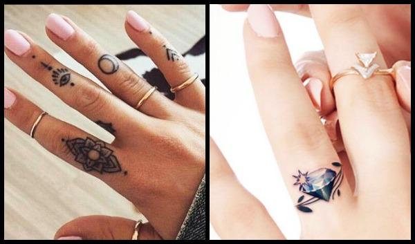 25 Πανέμορφα γυναίκεια τατουάζ δαχτυλίδια!