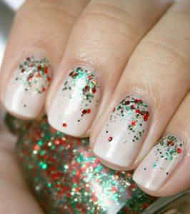 manicure chromata xmas dentrou