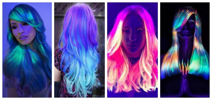 Χρώματα μαλλιών που φωσφορίζουν στο σκοτάδι!