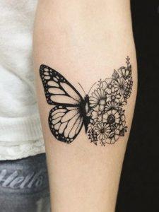 tattoo trisdiastati petalouda