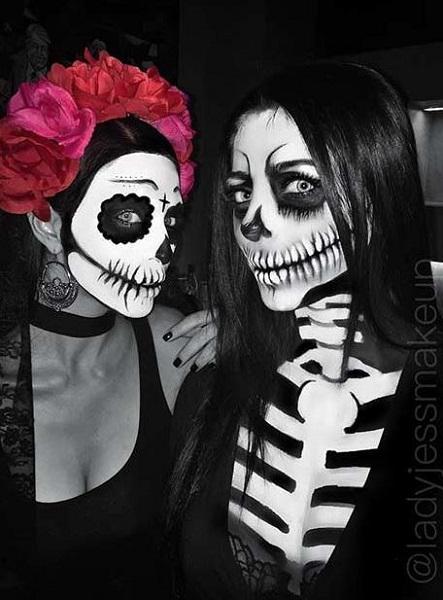 9d836fad7b3a Το να ντυθείς σκελετός όμως απαιτεί και το ανάλογο makeup. Αν δεν ξέρεις  πως να το κάνεις μπορείς να δεις εδώ το πιο εύκολο αποκριάτικο μακιγιάζ  σκελετού!