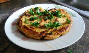 Εύκολη συνταγή για ομελέτα χωρίς αυγά!