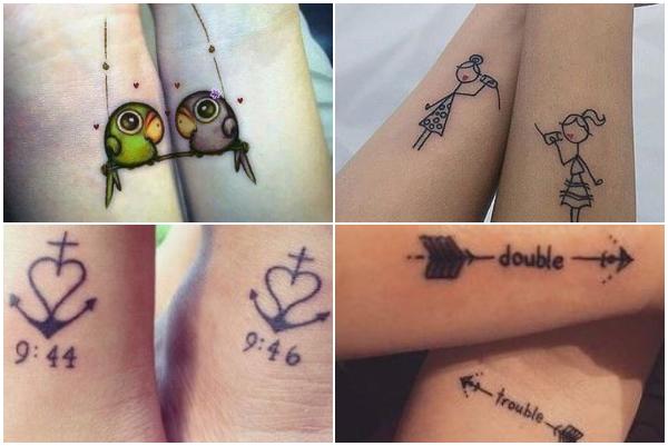 20 Ιδέες τατουάζ για δίδυμα!