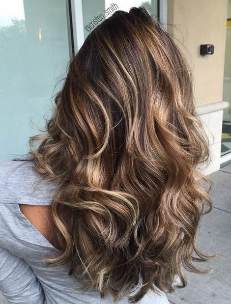 Το καστανό συγκαταλεγεται στις φετινές τάσεις στα χρώματα μαλλιών και  περισσότερο οι ζεστές αποχρώσεις του. Ακόμη b523e830b7a