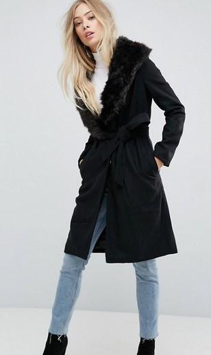 Το μαύρο χρώμα είναι από τις αγαπημένες αποχρώσεις στα γυναικεία παλτό. Θα  σου χαρίσει άνεση και θα μπορείς να το φορέσεις με πολλά διαφορετικά στυλ. 043aa5bdd34