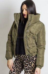 ladi prasino fouskwto jacket chicaclothing
