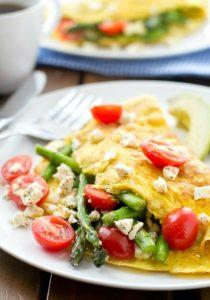 omeleta elliniki sparaggia