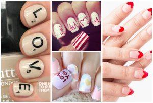 22 Ρομαντικά nail art για την ημέρα του Αγίου Βαλεντίνου!