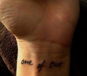 one of two tatouaz
