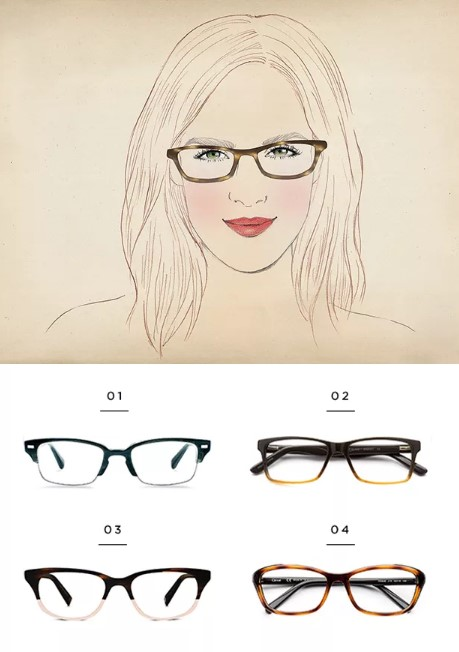 f65f58fcaa Βρες τα κατάλληλα γυαλιά οράσεως ανάλογα το σχήμα προσώπου σου ...
