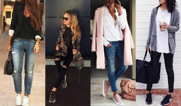 8 Ιδέες με αθλητικά παπούτσια για καθημερινό ντύσιμο!
