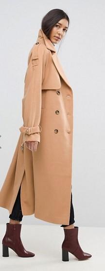 42cc733b4336 Ένα υπέροχο παλτό σε κλασική γραμμή που θα σου χαρίσει άνεση και φινετσάτο  look. Αυτό το χρώμα είναι ιδανικό για να σε συντροφέψει επάξια σε κάθε σου  έξοδο.