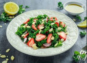 prasini salata fraoules