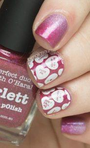 roz glitter love you manikiour