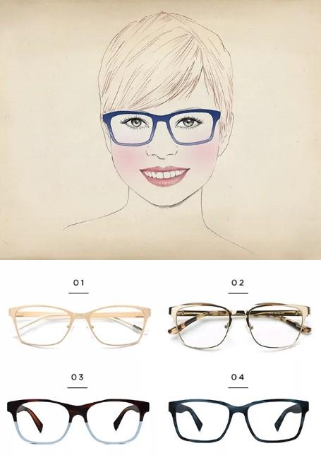 Βρες τα κατάλληλα γυαλιά οράσεως ανάλογα το σχήμα προσώπου σου ... db5e62f761e