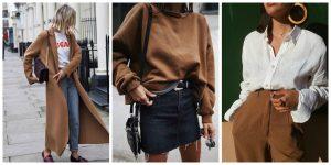 Πως να φορέσεις το ταμπά χρώμα στα χειμερινά σου outfits!