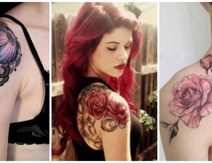 29 Μοναδικές ιδέες για γυναικείο τατουάζ στον ώμο!