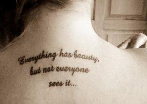 tattoo frasi plati
