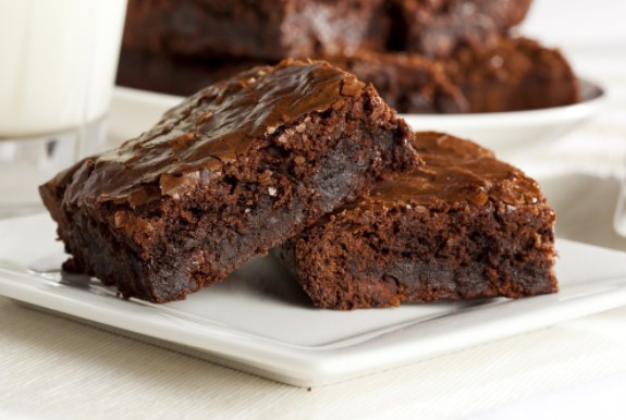 Υπέροχο νηστίσιμο brownie με ταχίνι!