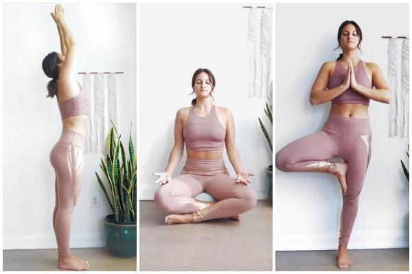 Διώξε το άγχος & γέμισε ενέργεια κάνοντας 15λεπτά Yoga!