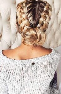 dutch braid, chamilos kotsos