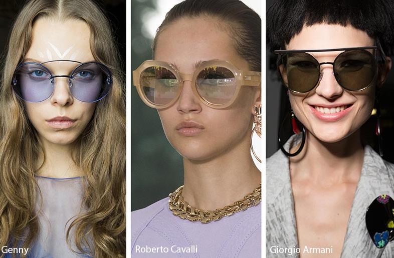Πως είναι δυνατόν να λείπει και η υπερβολή στα στρογγυλά γυαλιά  Δεν  γίνεται! Μεγάλα στρογγυλά γυαλιά e7a7b75724e