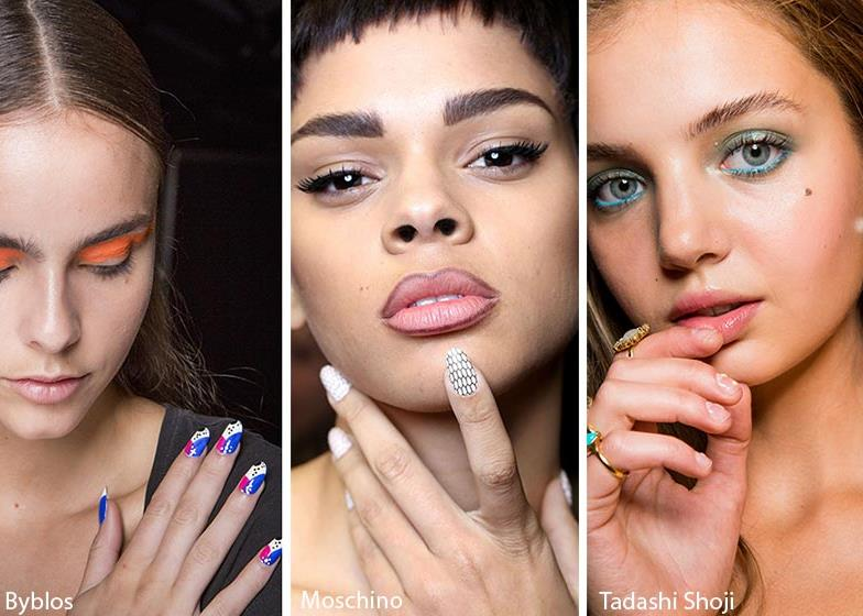 polca dots manicure