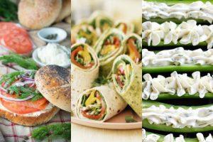 4 Νόστιμες ιδέες για σάντουιτς με Φιλαδέλφεια!