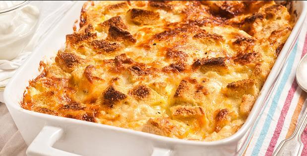 Σουφλέ τυριών με γιαούρτι της τεμπέλας!