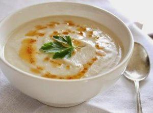 soupa lachanikwn me ginger