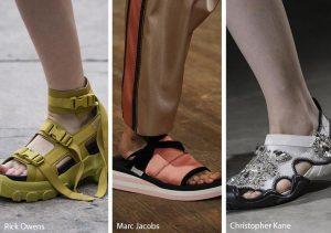 sporty sandalia